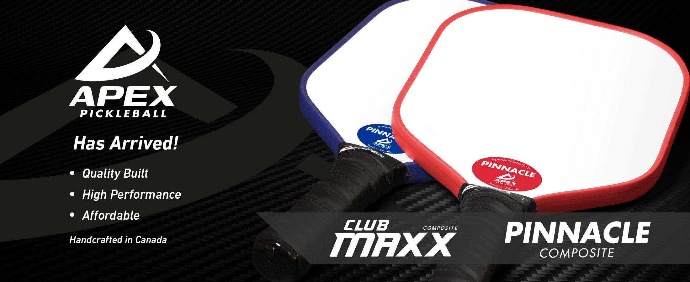 Club-Maxx and Pinnacle – Apex Pickleball Paddles